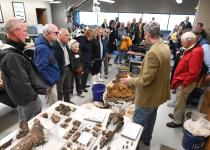 ETSU President's Circle Academy visits the ETMNH Gray Fossil Site Lab