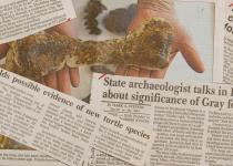 Newspaper articles about the ETMNH and Gray Fossil site