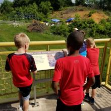 Fossil Site Viewing Deck